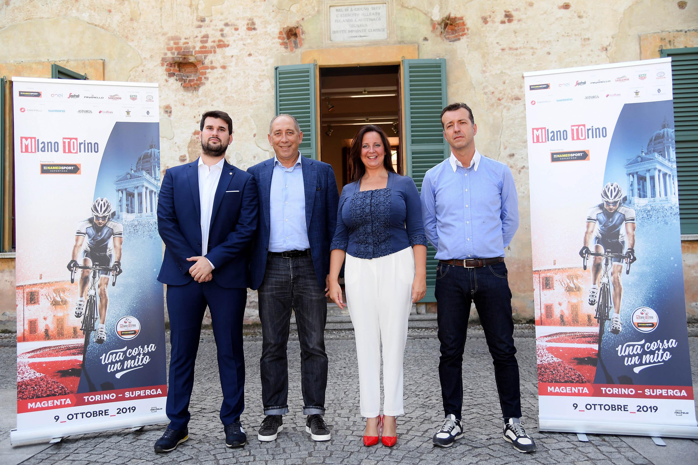 In foto: Chiara Calati, Stefano Allocchio, Luca Aloi, Simone Gelli