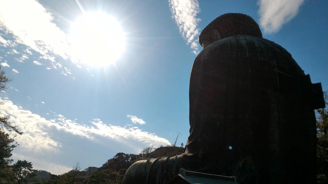 Sole a Kōtoku-in – Kamakura (foto aggynomadi)