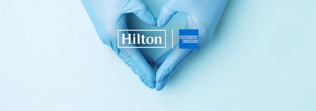 Hilton American Express COVID19