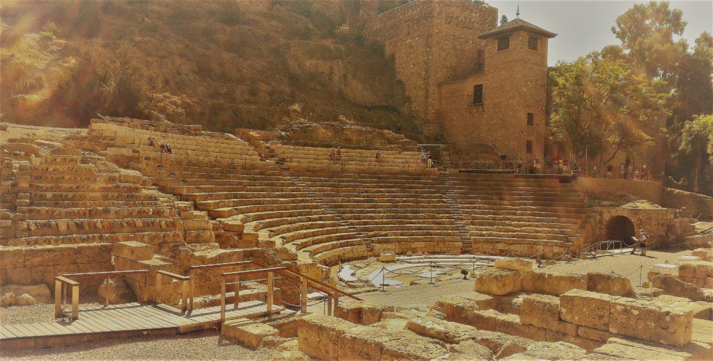 Alcazaba - Teatro Romano (foto aggynomadi)