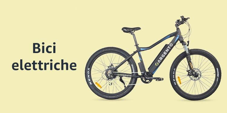 Bici elettriche (foto Amazon)