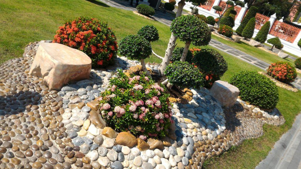 I giardini del Marble Temple (foto aggynomadi)