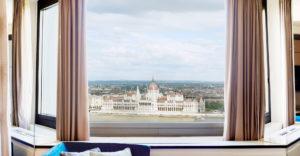 Vista del Parlamento - foto Hilton Budapest