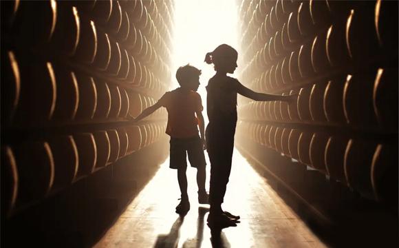 Visite ai caseifici (foto Parmigiano Reggiano)