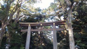Meiji Jingu First Torii gate (foto aggynomadi)