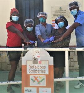 RIU HOTELS & RESORTS distribuisce pasti solidali a Capo Verde
