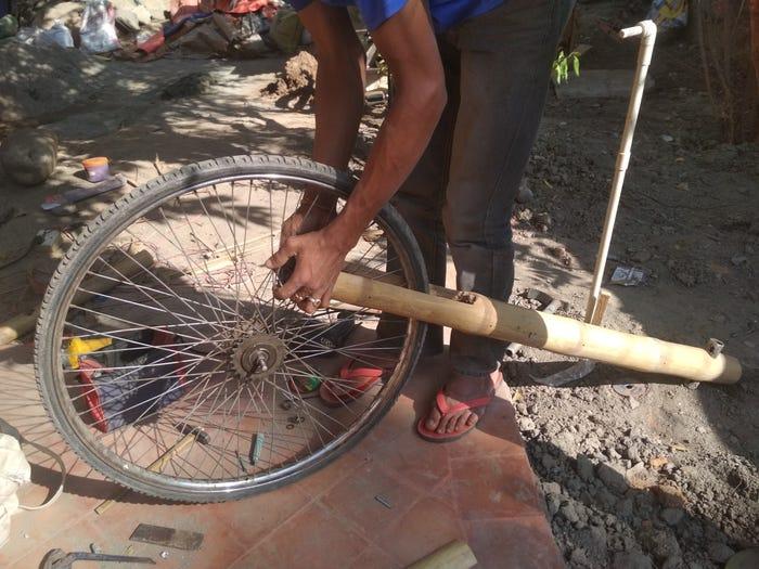 bambù ebike nepa (foto insider)